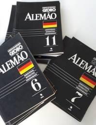 Curso de Alemão - Editora Globo - 18 Livros e K7s - Completo!