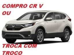 Honda CR-V Pago À Vista ou Troca com Troco