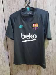 Camisa Barcelona Treino 19/20 Nike Masculina