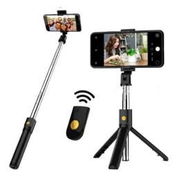 Bastão Pau de Selfie c/Bluetooth