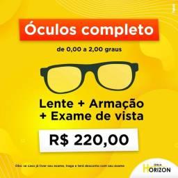 Óculos completo