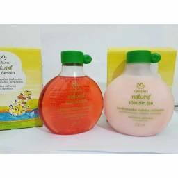 Natura shampoo e condicionador infantil