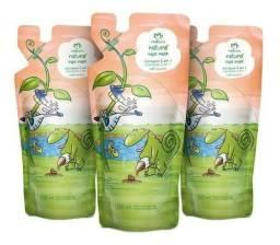 Natura Refil de shampoo e condicionador infantil