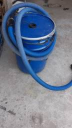 Aspirador industrial dois motores