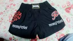 Short de Muay Thai Rudel Preto