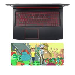 Mousepad Gamer Rick And Morty 17x40
