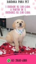 Vendo bandana para pet ( cachorro e gato )