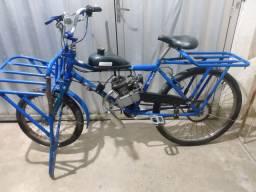 Bicicleta Cargo Motorizada EXTRA ACEITO CARTÃO