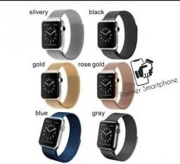 Entrega imediata Pulseira Compatível Tipo Apple Watch/ Iwo 40mm 44mm Varios Modelos