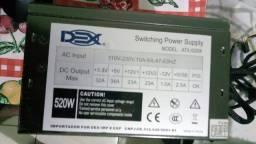 Fonte Dex Switching Power Supply Atx 520w