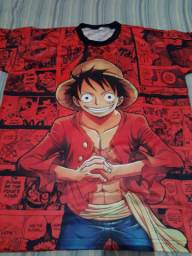 Camisa de animes One Piece