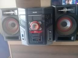 Aparelho de som Philips usado