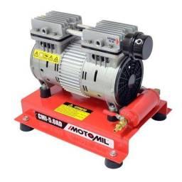Compressor Ar Direto Motomil CMI-5,0 Isento De óleo 1HP 220V
