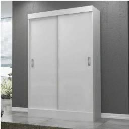 roupeiro 2 portas correr branco