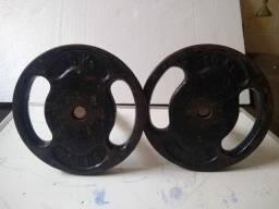 Par de anilhas de 10kg