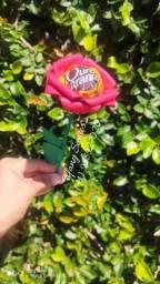Rosas de eva com bombom para dia das mães