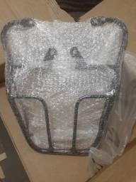 Bagageiro Em Aço Cbx 250 Twister Preto 2001/2008, novo!