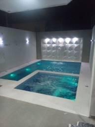 Construcao de piscina