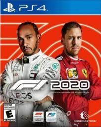 Jogo F1 2020 PS4 Mídia digital - Conta secundária