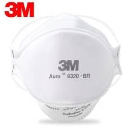 Máscara 3M Aura 9320 - Respirador Descartável PFF2
