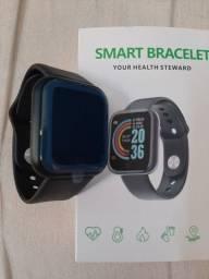 Smartwatch Y68 D20 (relógio digital)