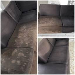 Limpeza e higienização de sofas a seco!!!