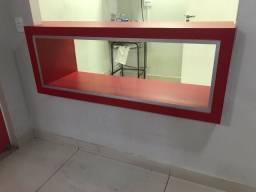 Balcão armário planejado MDF