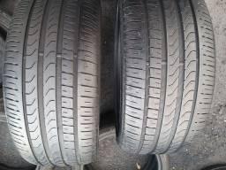 2 pneus 275 35 22 Pirely com 80 % de Borracha.