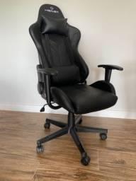 Cadeira Gamer - Reclinável Strike com 2 almofadas Travel Max Preto