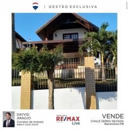 Linda casa com 3 dormitórios à venda, 100 m² no Condomínio Serra Nevada - Bananeiras/PB