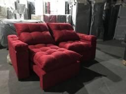 Sofá retrátil e reclinável Rafa!!!!
