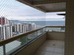 Apartamento para locação com varanda gourmet, meia quadra da praia