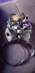 carburador twister a álcool 170 leva