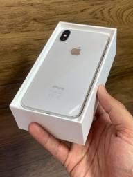 iPhone X 64GB Branco Prata Silver - Até 18x no cartão! Semi novo, perfeito 64 GB