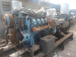 Motor MTU serie 2.000 Gerador industrial maritimo
