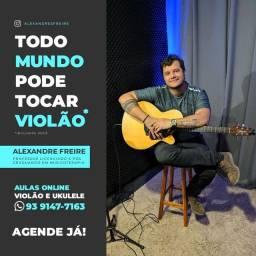 Aprenda - violão, Guitarra e ukele - sem sair de casa