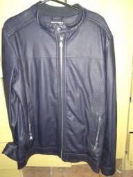 Jaqueta de couro Italiana Alcott(extra grande)