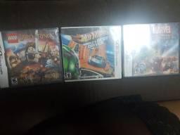 3 jogos Nintendo DS e 3ds  novos .