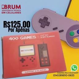 Game 400 jogos com controle