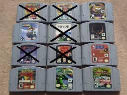 Jogos originais de N64