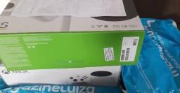 Lançamento Xbox Series S lacrado na caixa nota fiscal e garantia 1 ano Magazine Luiza