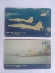 Cartões telefônicos da CRT