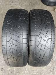 Dois pneus 225/60/17 Pirelli Scorpion em bom estado