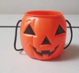 Título do anúncio: Pote baleiro abóbora Halloween
