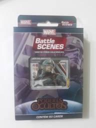 Batle Scenes Marvel - Heróis, Vilões, Poderes Ocultos e Invasão Cósmica