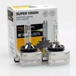 Par Lampada Xenon Super Vision D3s Audi Q3 Q5 Q7 35w 4300k Original