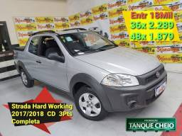 Strada Hard Work 1.4 Flex CD 3Pts Entr 18Mil Ac. Seu carro