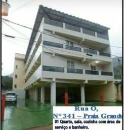 Título do anúncio: Apartamento em praia grande 900,00 com água e condomínio já inclusos neste valor!!!!