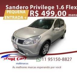 SANDERO 2008/2009 1.6 PRIVILÈGE 8V FLEX 4P MANUAL