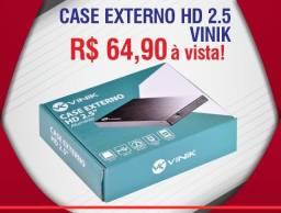 """Case Externo Para Hd 2.5"""" Aluminio Usb 2.0"""